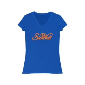 SickWalt Women's V-Neck Tee