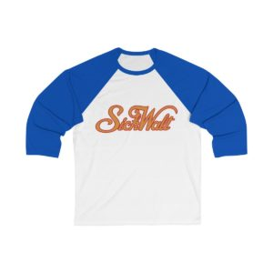 SickWalt Unisex 3/4 Sleeve Baseball Tee